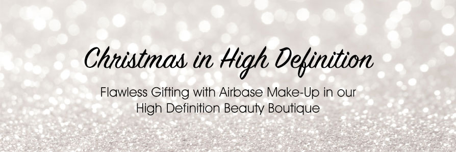 Flawless Gifting with Airbase Make-Up in our High Definition Beauty Boutique