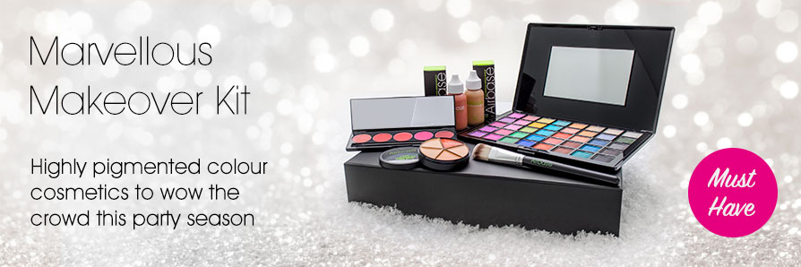 Highly pigmented colour cosmetics to wow the crowd this party season