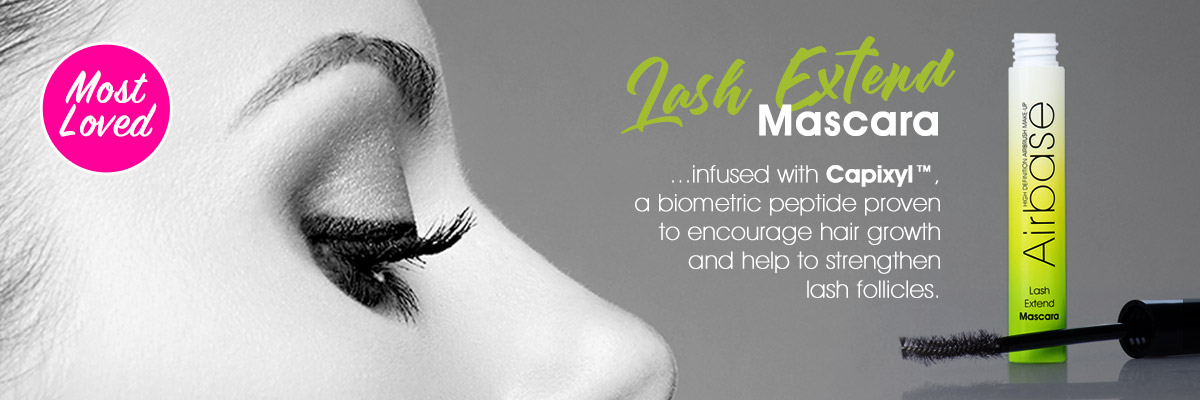 Lash Extending Mascara ...infused with Capixyl™, a biometric peptide provento encourage hair growth and help to strengthenlash follicles.