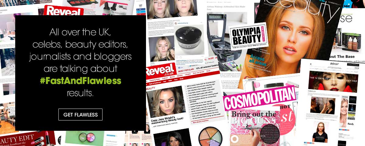 All over the UK, celebs, beauty editors, journalists and bloggers are talking about #FASTANDFLAWLESS results
