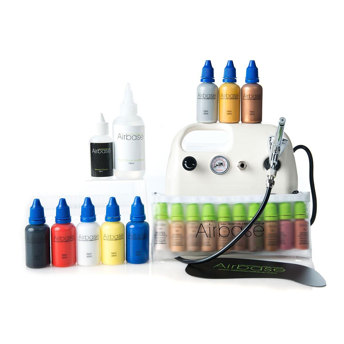 Airbrush Multi-Purpose Kit - 8 Primary Colours