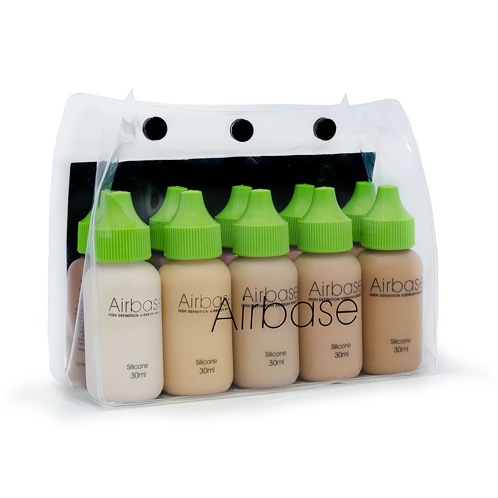 Airbase Ultra Silicone Foundation Collection - 30ml All Colours