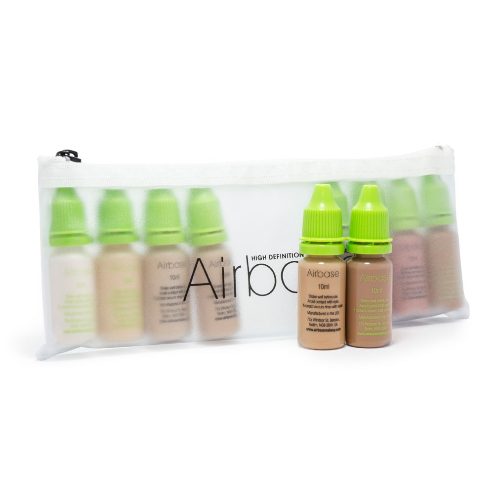Airbase Ultra Silicone Foundation Collection - 10ml All Colours