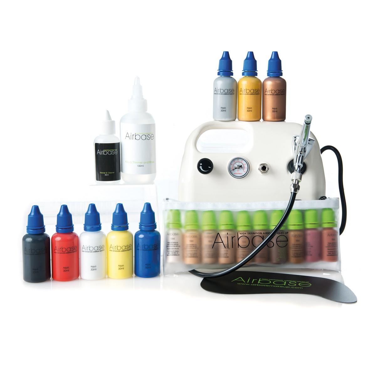 Airbrush Make-up and Airbrush Body Art Complete Kit