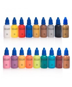 Rainbow of Body Art Paints Water-soluble