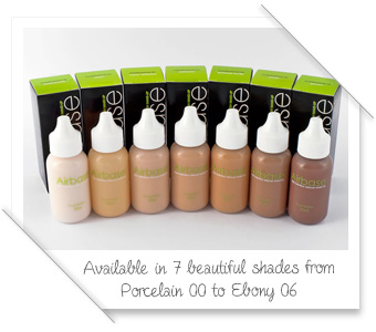 Silicone Based Foundation by Airbase Make-Up