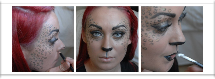 Create a Luring Leopard look for Halloween