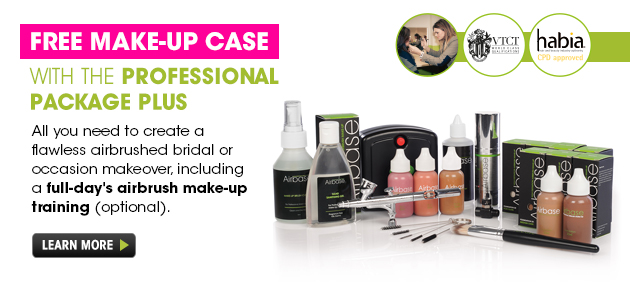 Free Make-up Case with the Professional Package Plus. Shop now